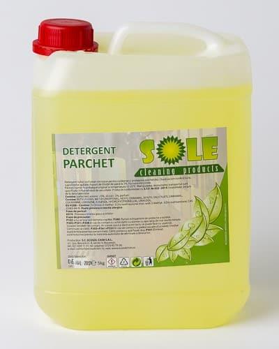 detergent lichid parchet