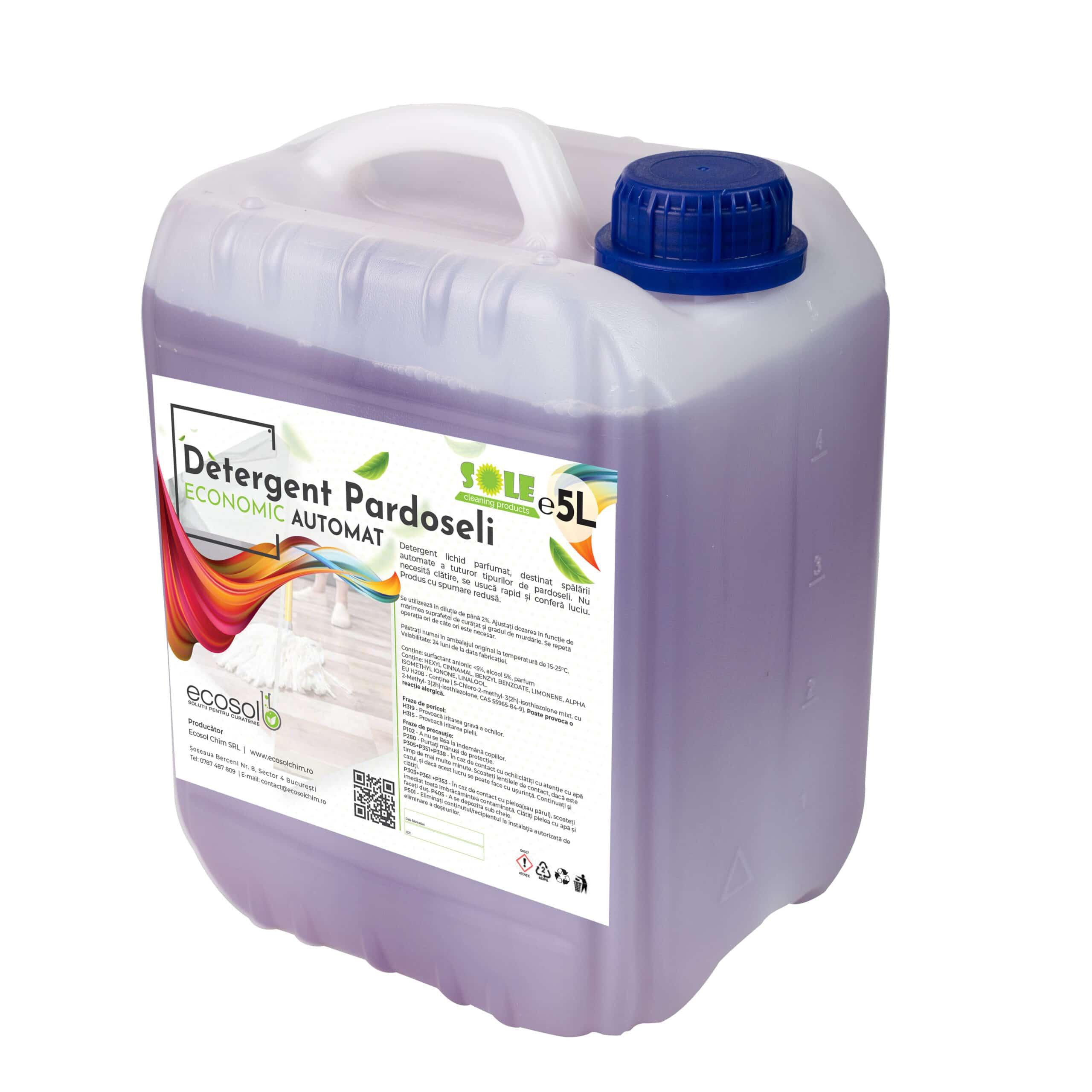 detergent pardoseli economic automat